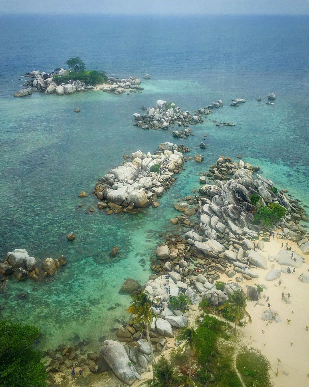 Granit Pulau Lengkuas Belitong