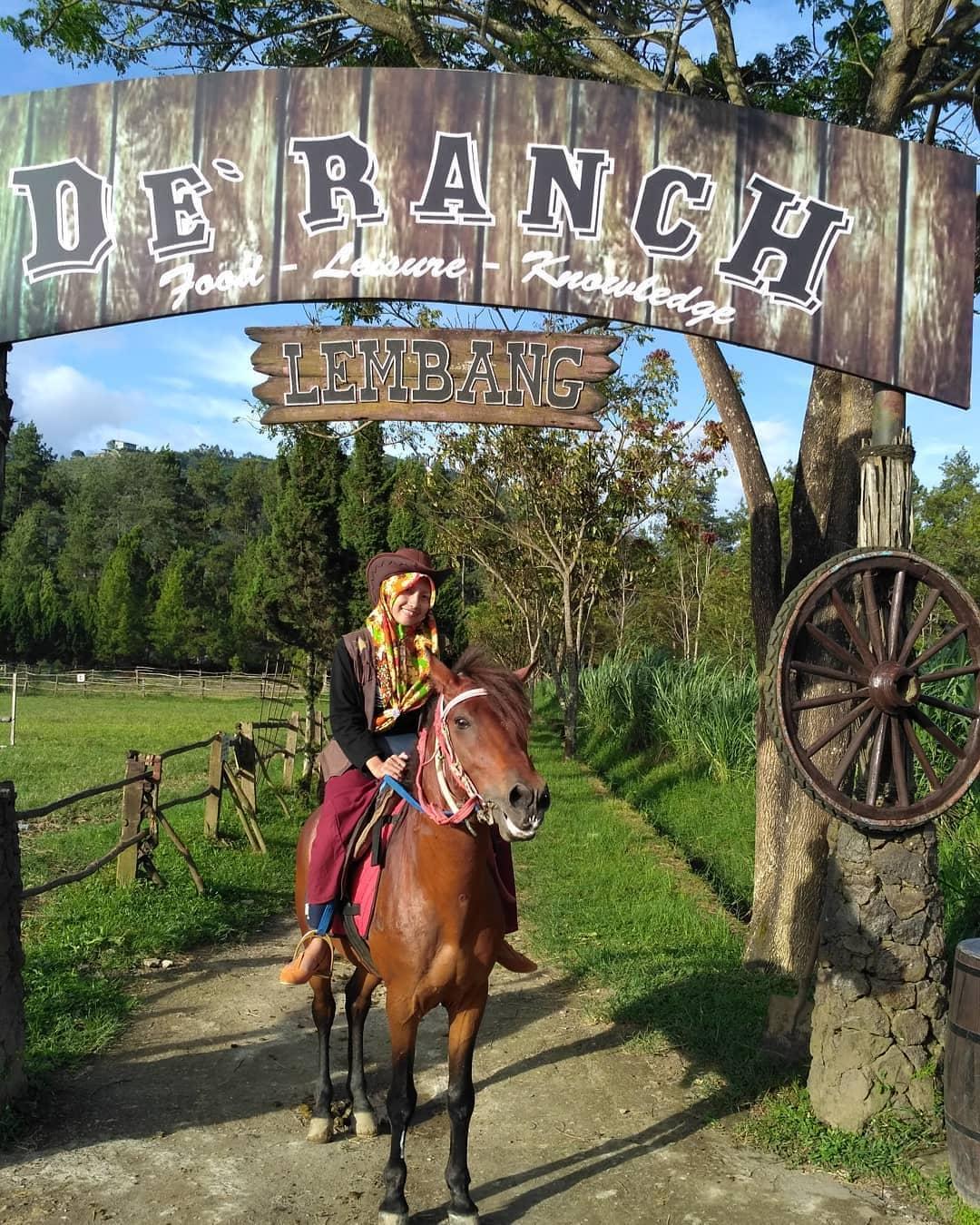 De'Ranch Lembang Taman Bermain Bertema Peternakan Ala Cowboy 5