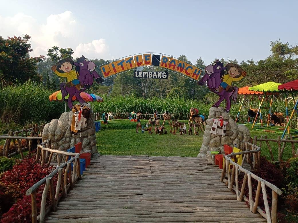 De'Ranch Lembang Taman Bermain Bertema Peternakan Ala Cowboy 6