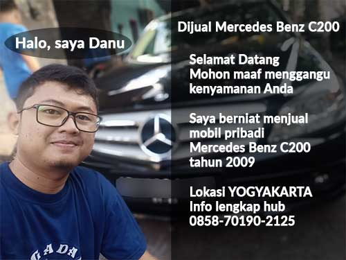 Jual Mobil Mercedes Benz C200