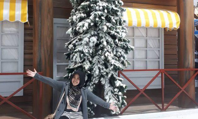 snow world gadis cantik