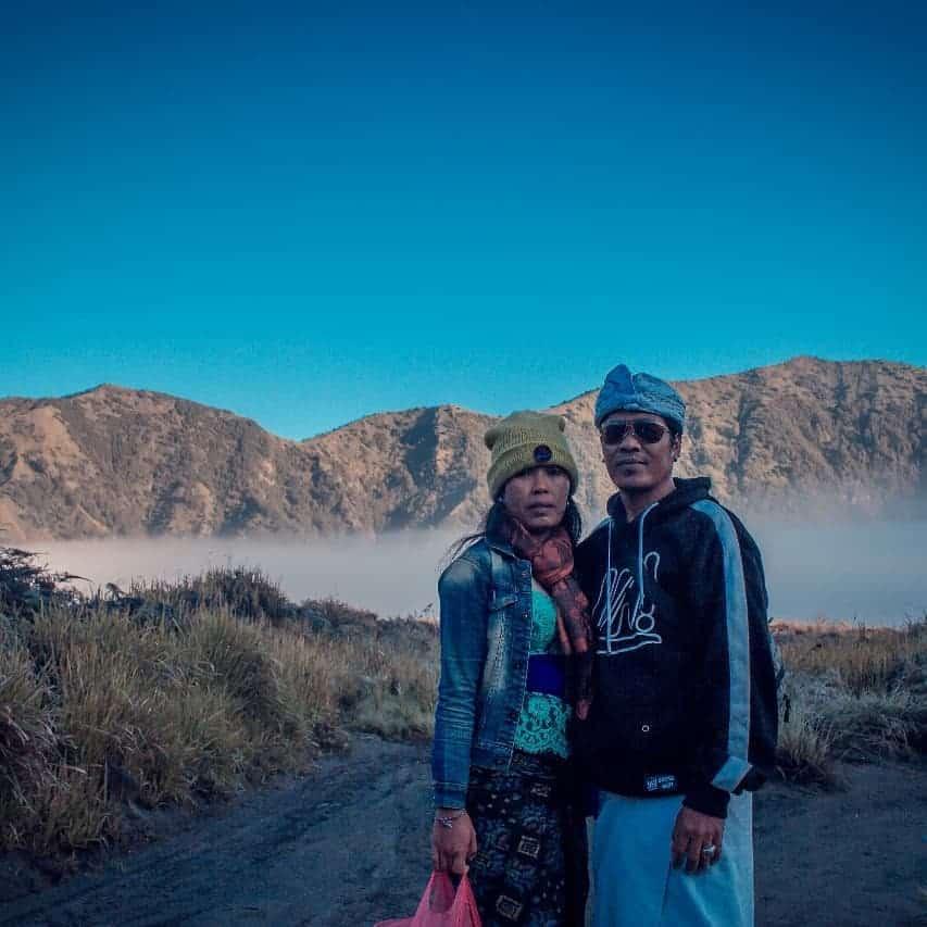gunung bromo sepasang kekasih