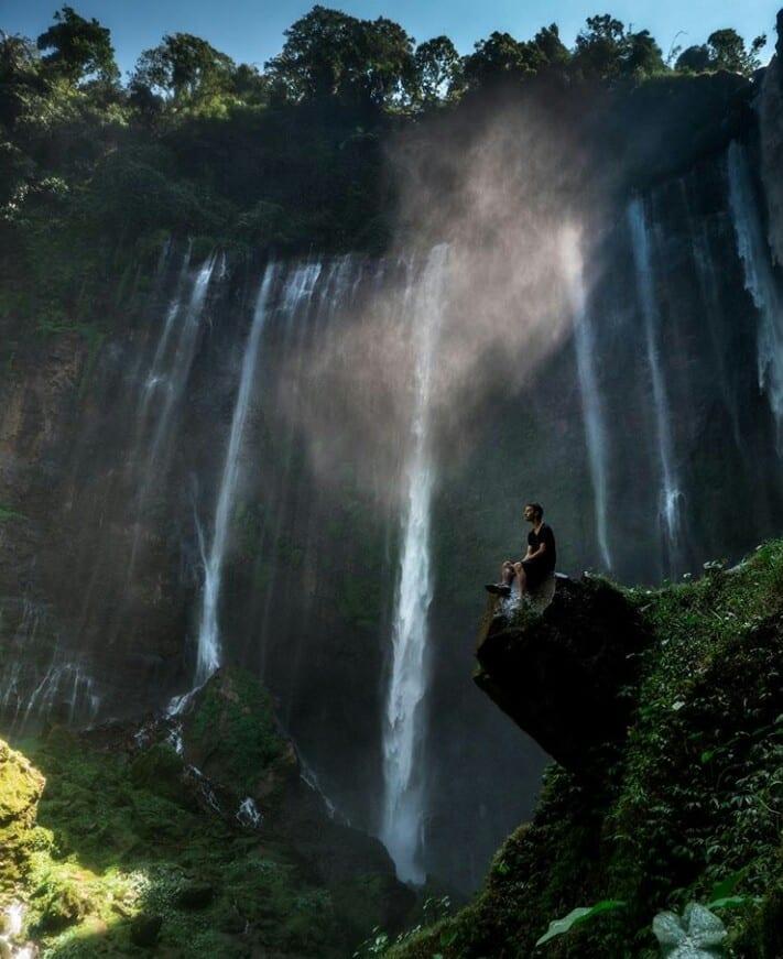 Kesegaran serpihan surga Air Terjun Tumpak Sewu, Lumajang 2