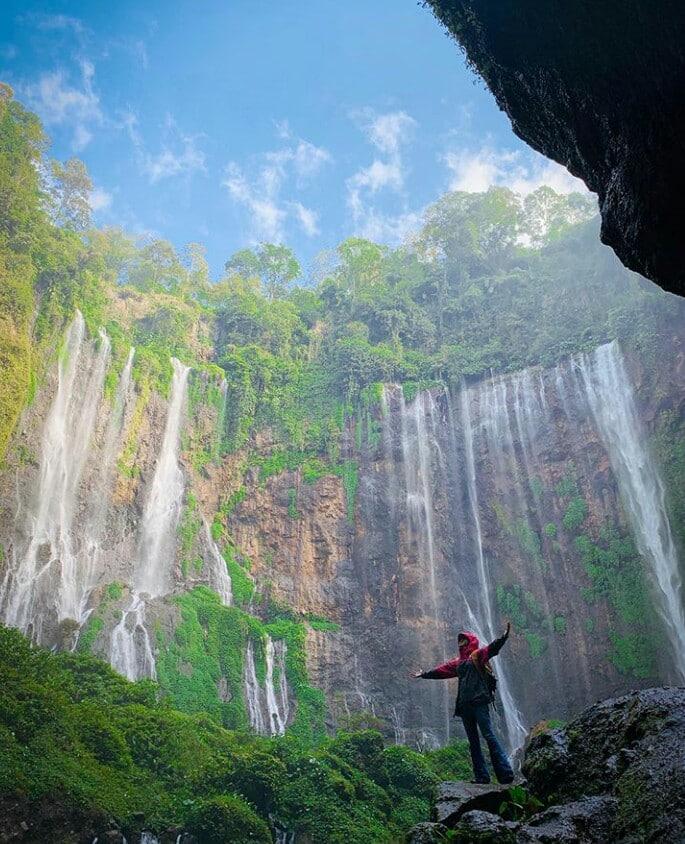 Kesegaran serpihan surga Air Terjun Tumpak Sewu, Lumajang 3