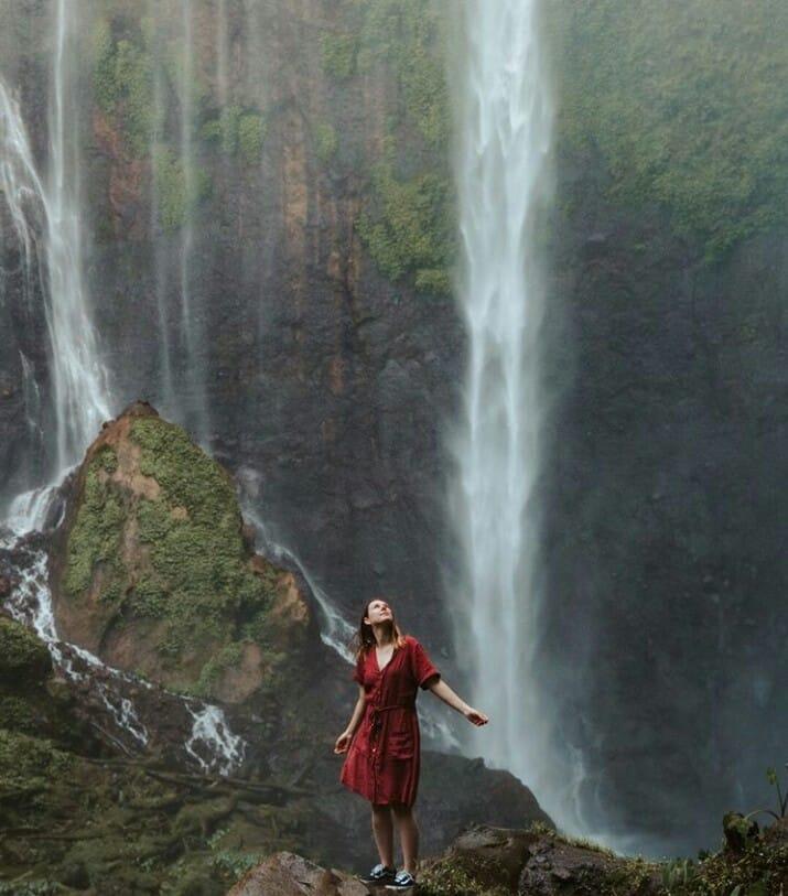 Kesegaran serpihan surga Air Terjun Tumpak Sewu, Lumajang 4