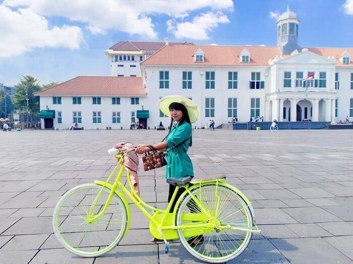 Sepeda Kota Tua Jakarta