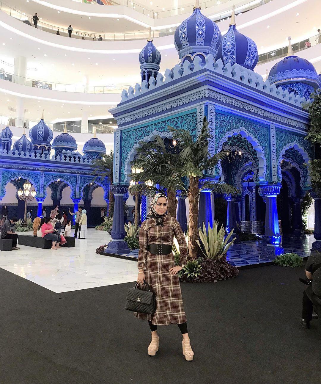 Replika Masjid di Grand Indonesia