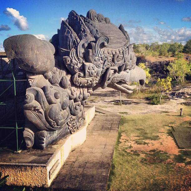 Patung Termegah Di Indonesia Garuda Wisnu Kencana (GWK) we 5