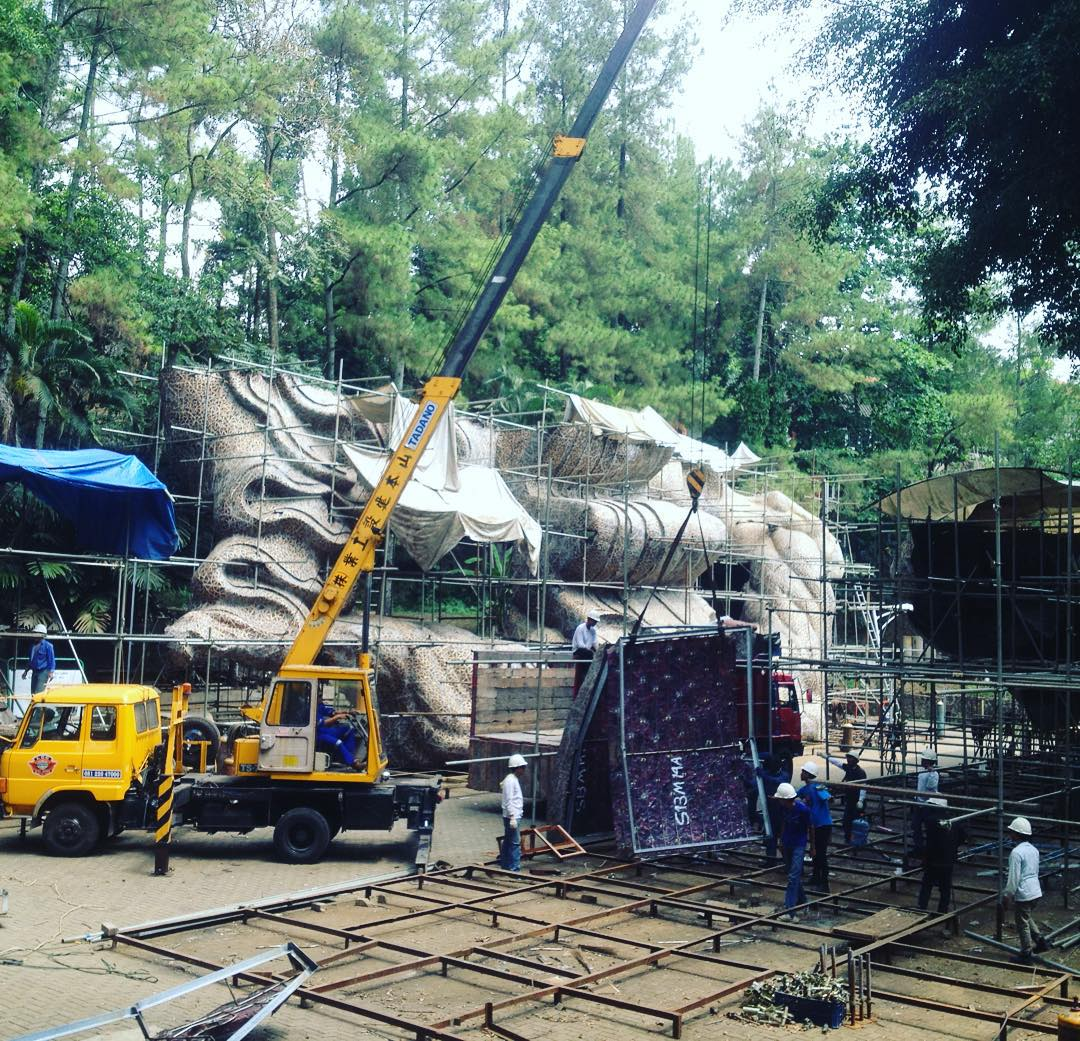 Patung Termegah Di Indonesia Garuda Wisnu Kencana (GWK) we 6