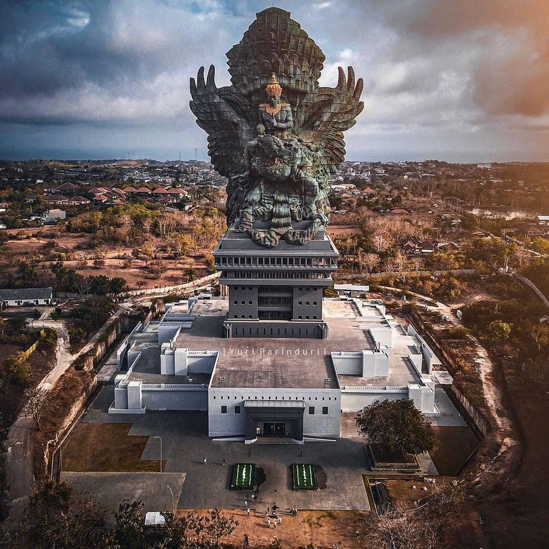 Patung Termegah Di Indonesia Garuda Wisnu Kencana (GWK) we 2