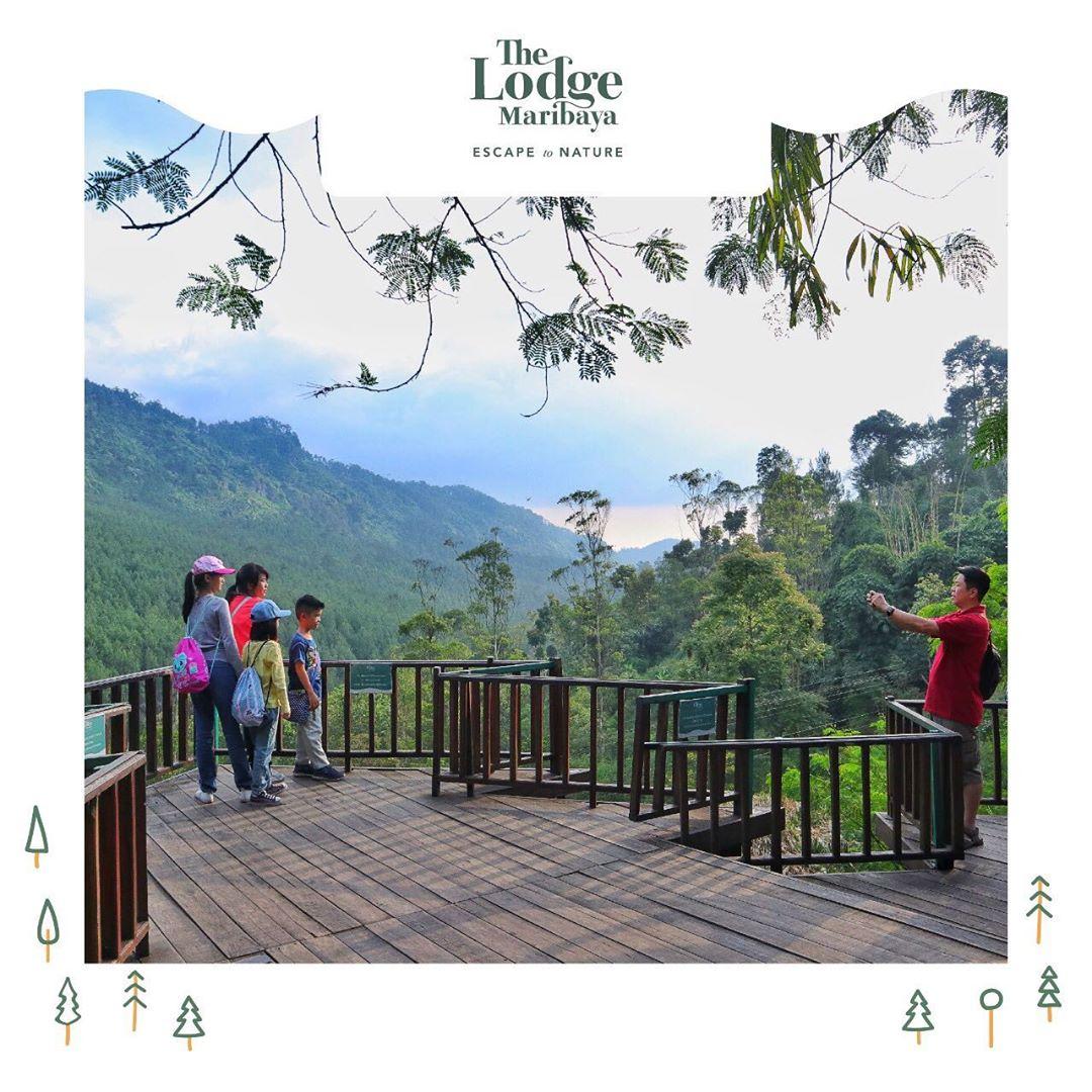 The Lodge Maribaya Spot Foto Unik, Seru Dan Menantang 5