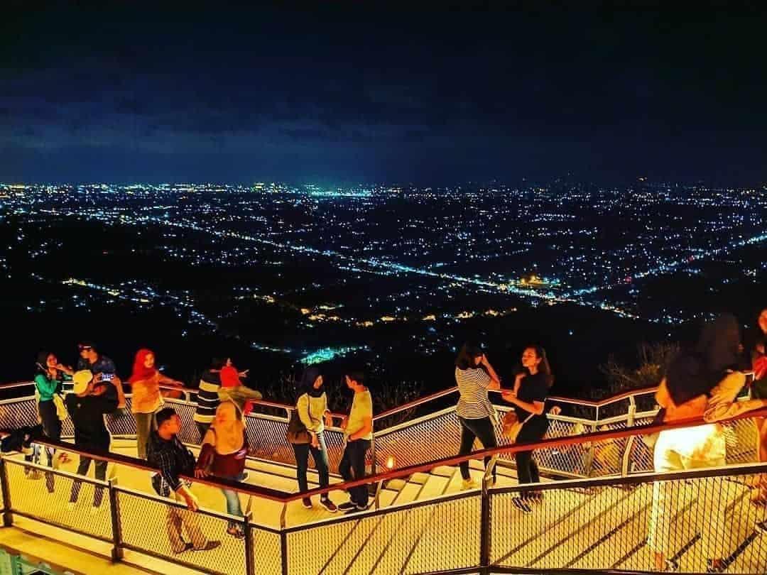 Heha Sky View Malam Hari