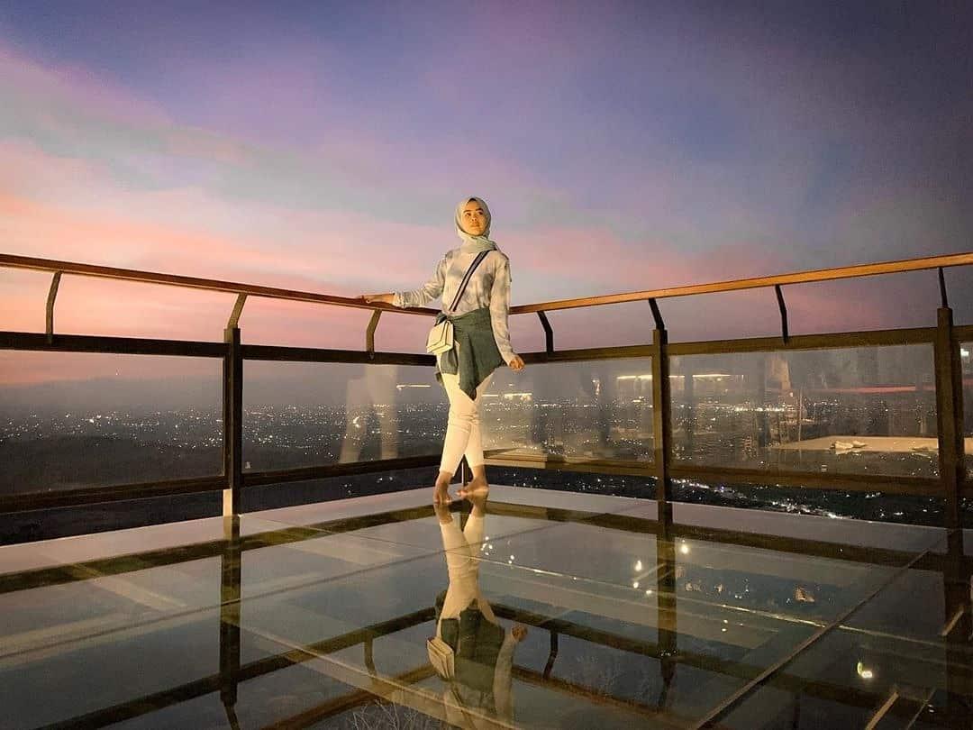 HEHA Sky View Jogja Resto Dengan Pemandangan Spektakuler 1