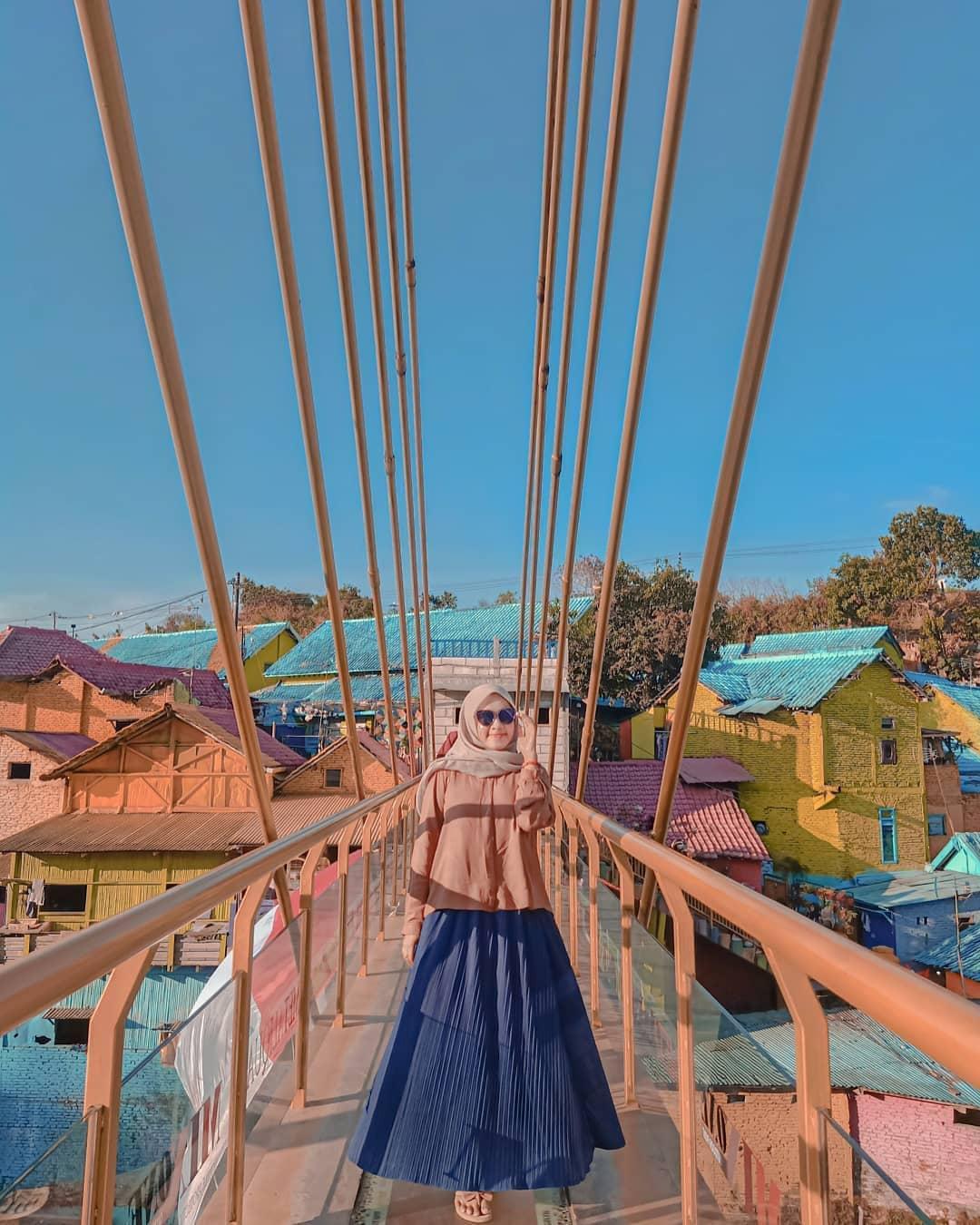 Spot Jembatan di Kampung Jodipan