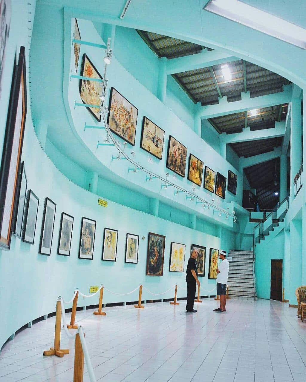 View di dalam Museum Affandi