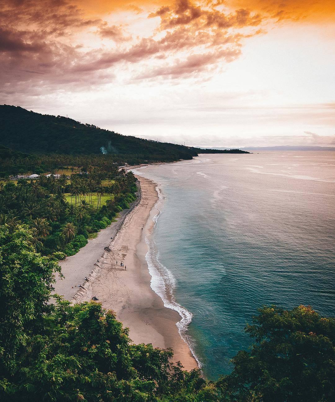 Spot Pantai Setangi