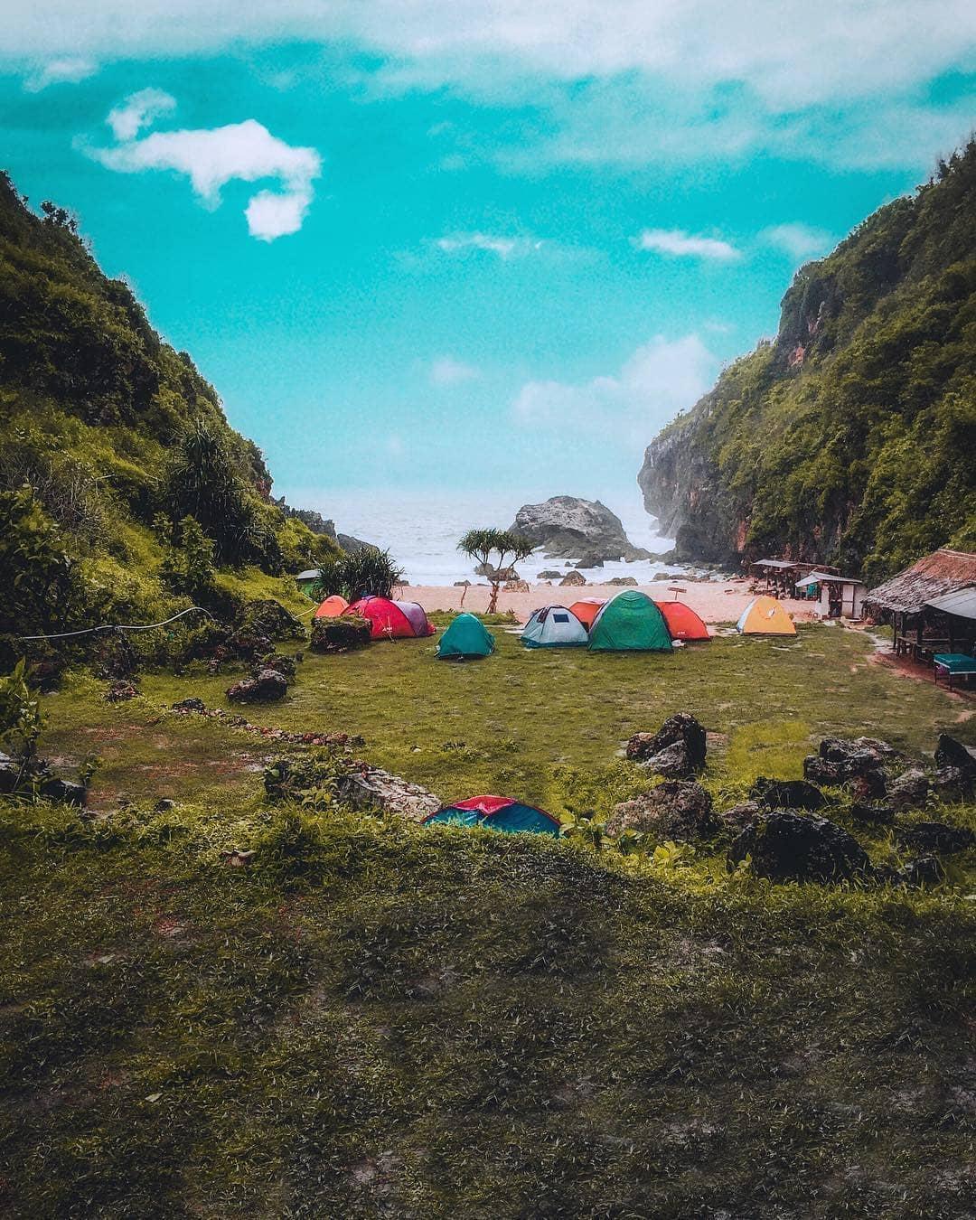 Pantai Woh Kudu Camping