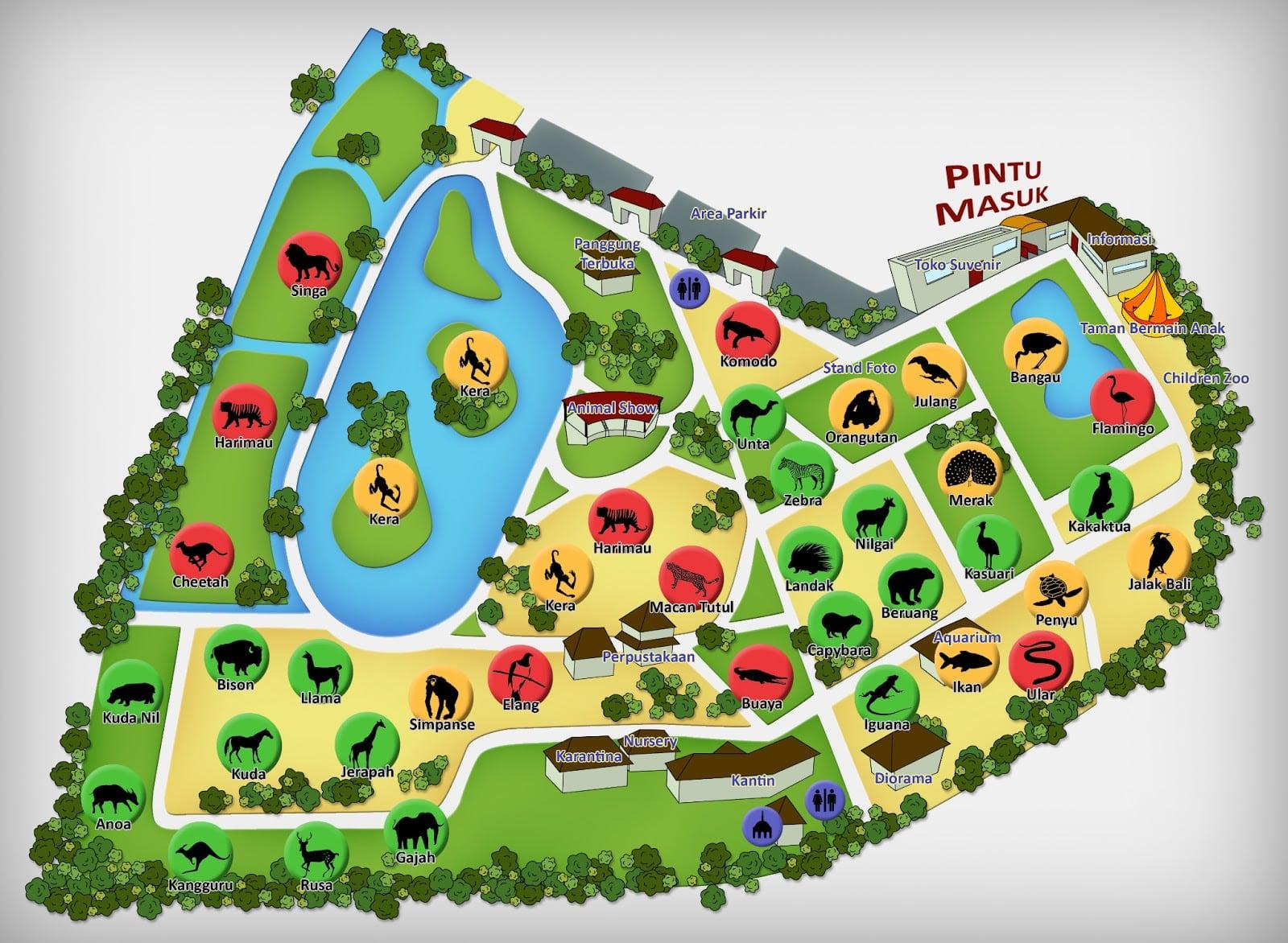 Wisata Rekreasi Edukasi Murah Meriah di Kebun Binatang Ragunan 2