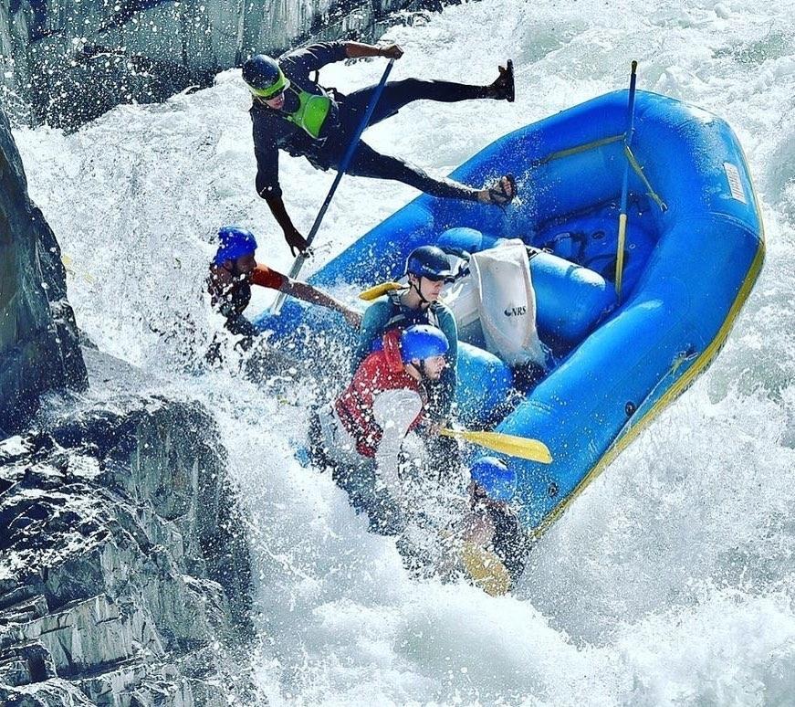Rafting di Sungai Kaliwatu