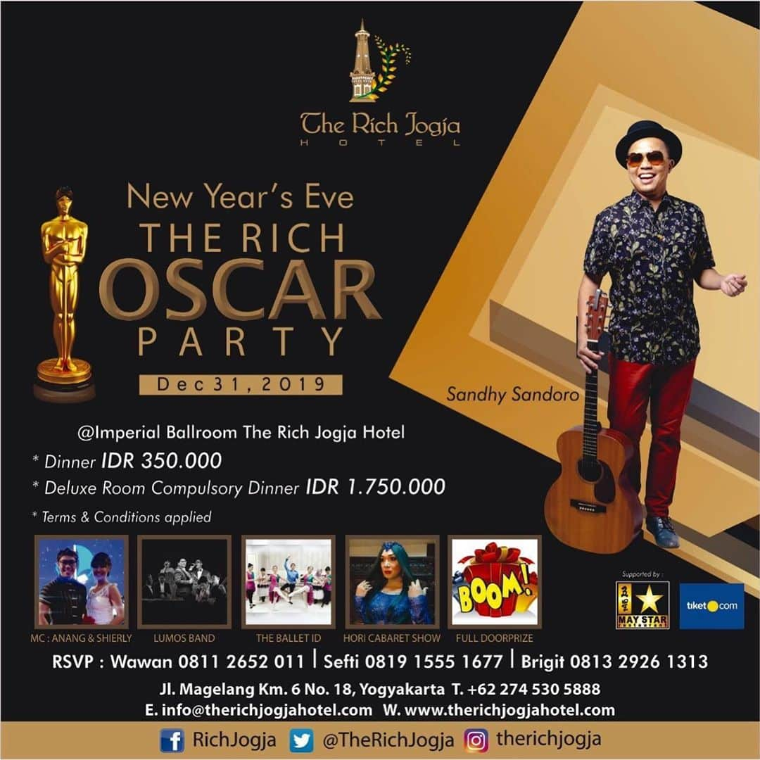 Tahun Baru di the Rich Hotel Jogja