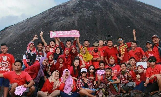 Melihat Gunung Krakatau Gunung Maha Dahsyat Di Selat Sunda 7