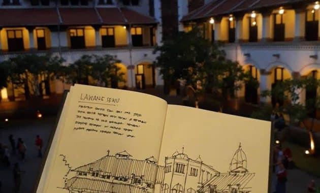 Menelusur Objek Wisata Terseram Di Asia Lawang Sewu Semarang 7