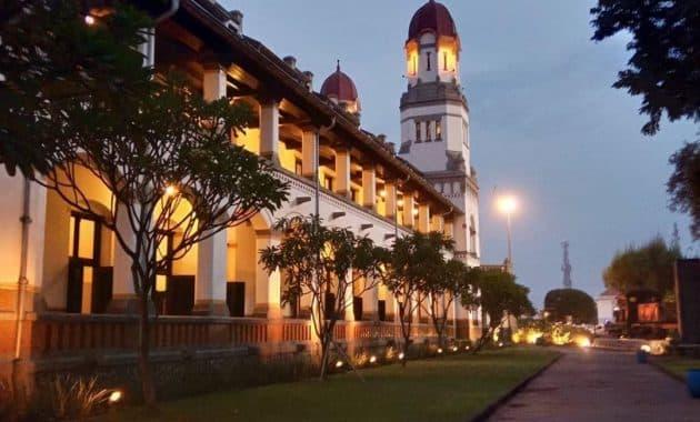 Menelusur Objek Wisata Terseram Di Asia Lawang Sewu Semarang 5