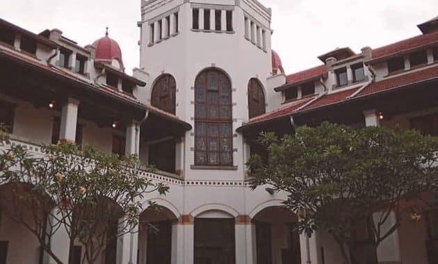 Menelusur Objek Wisata Terseram Di Asia Lawang Sewu Semarang 1