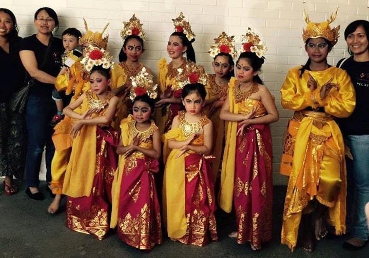 Gambar Murid Sanggar Tari Bali Saraswati