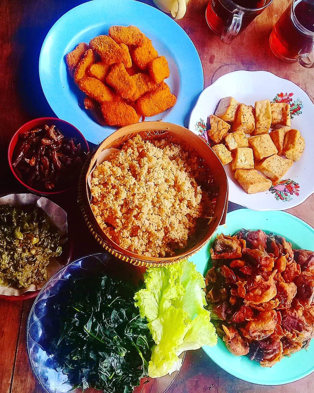 Menu Nasi Tiwul