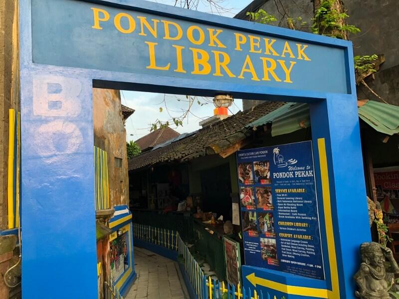 Pondok Pekak Library Bali