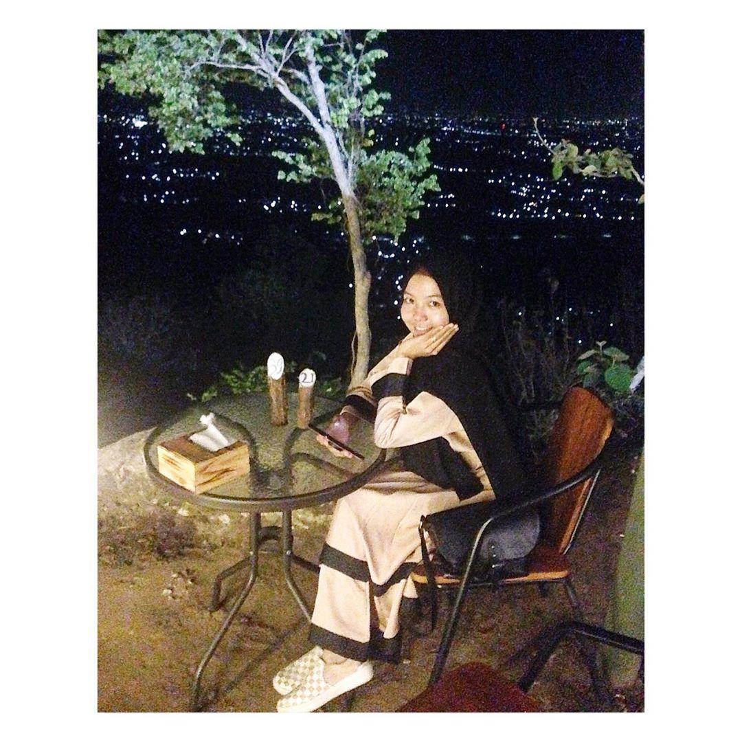 View di Kafe Watu Langit