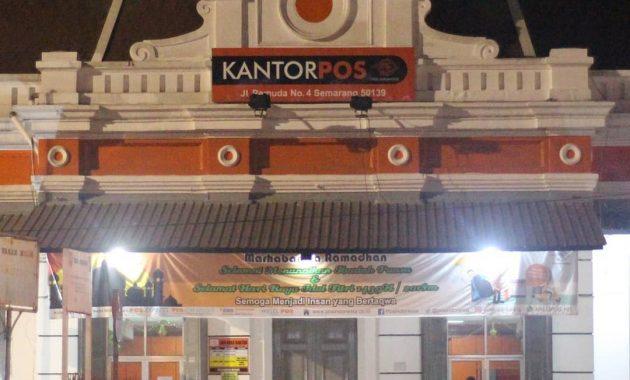 Depan Kantor Pos Besar Semarang