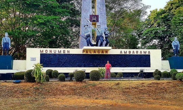 Halaman Monumen Palagan Ambarawa
