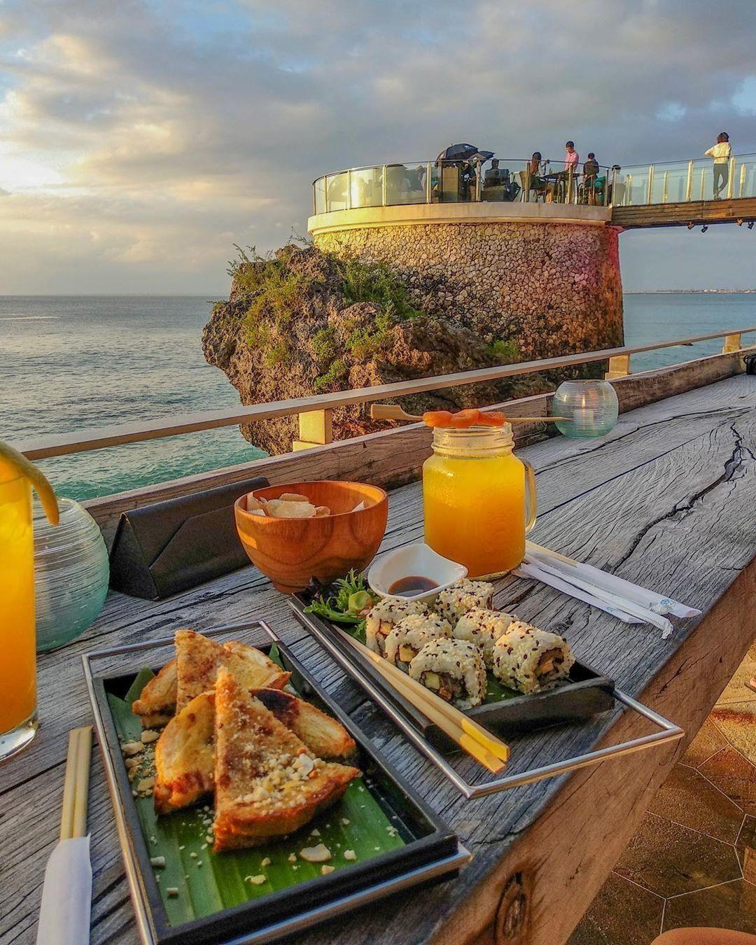 Menu di Rockbar Bali