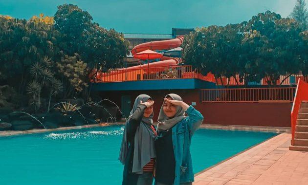 Menikmati Sejuknya Air Di Sanding Waterboom Bandung 5