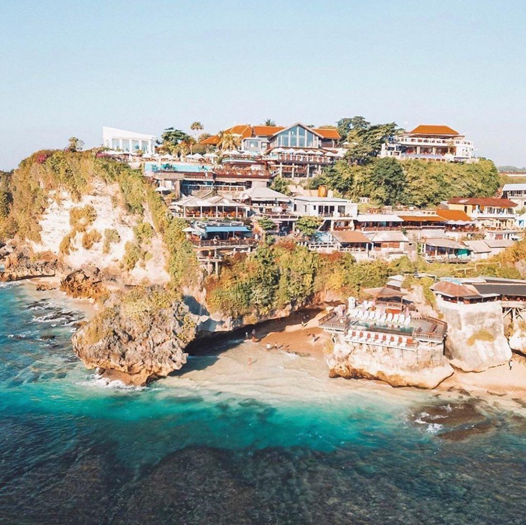 Top View Single Fin Bali