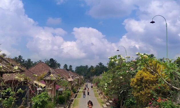 Jalan Desa Penglipuran