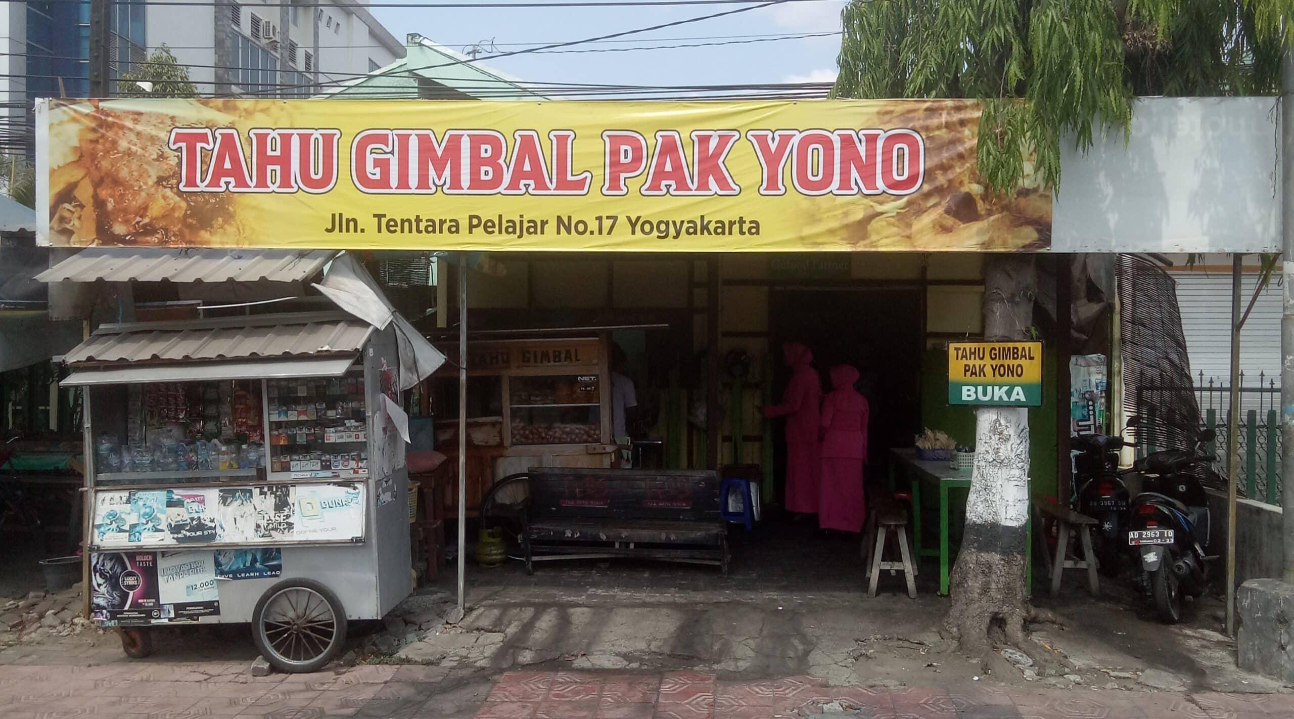 Gambar Tahu Gimbal Pak Yono