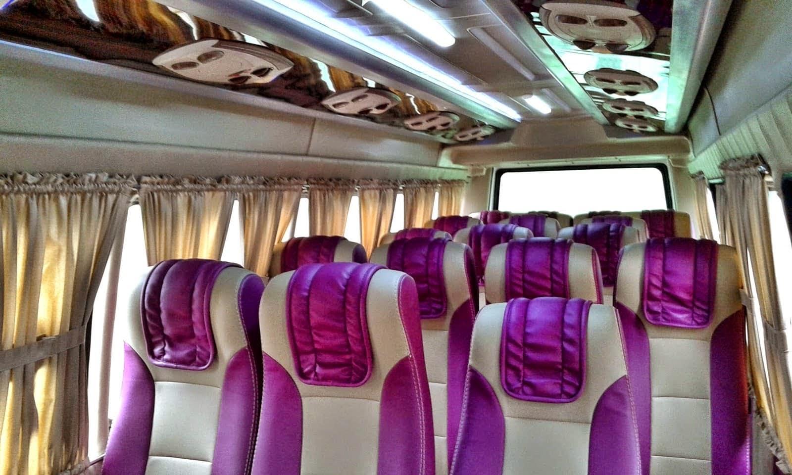 Interior Armada Travel Bandung Majalengka