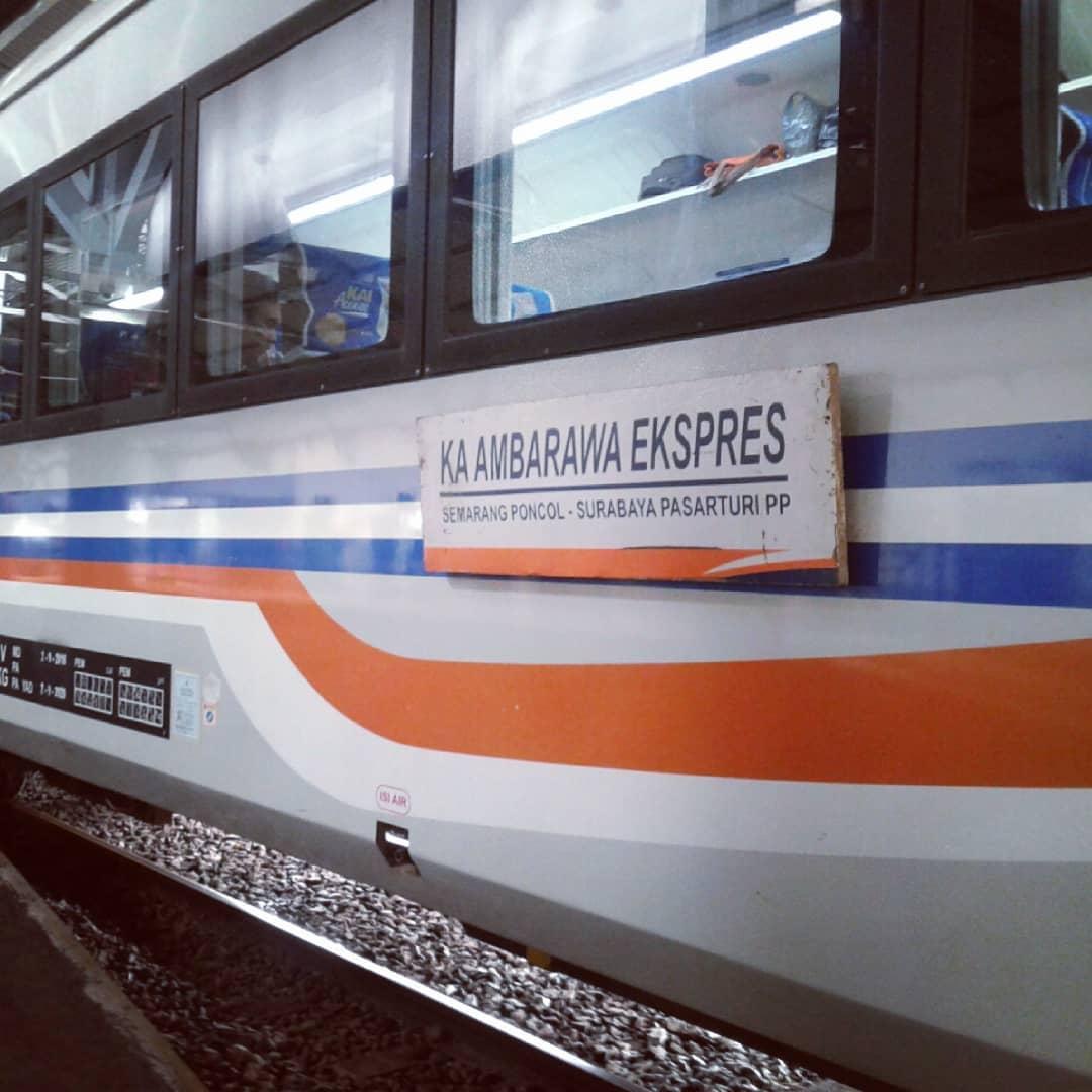 gerbong jadwal kereta api ambarawa ekspres