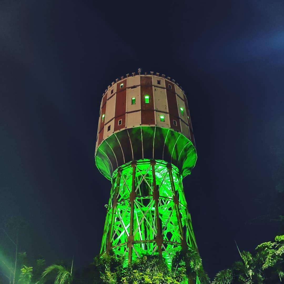 Malam Menara Air Tirtanadi