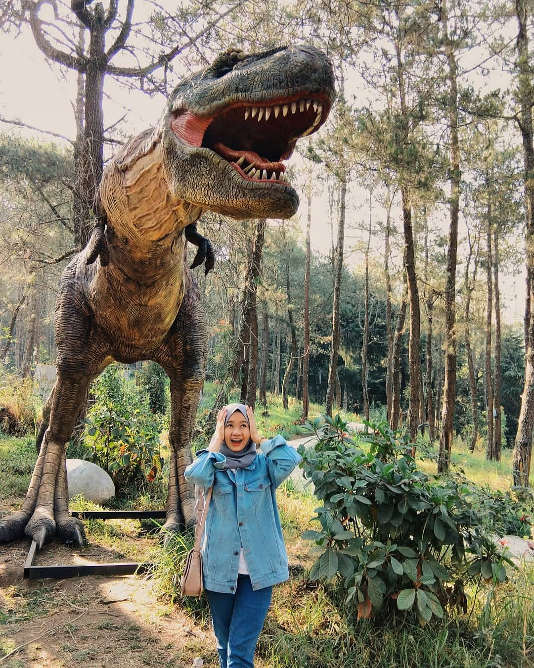 Dinosaurus Mojosemi Forest Park