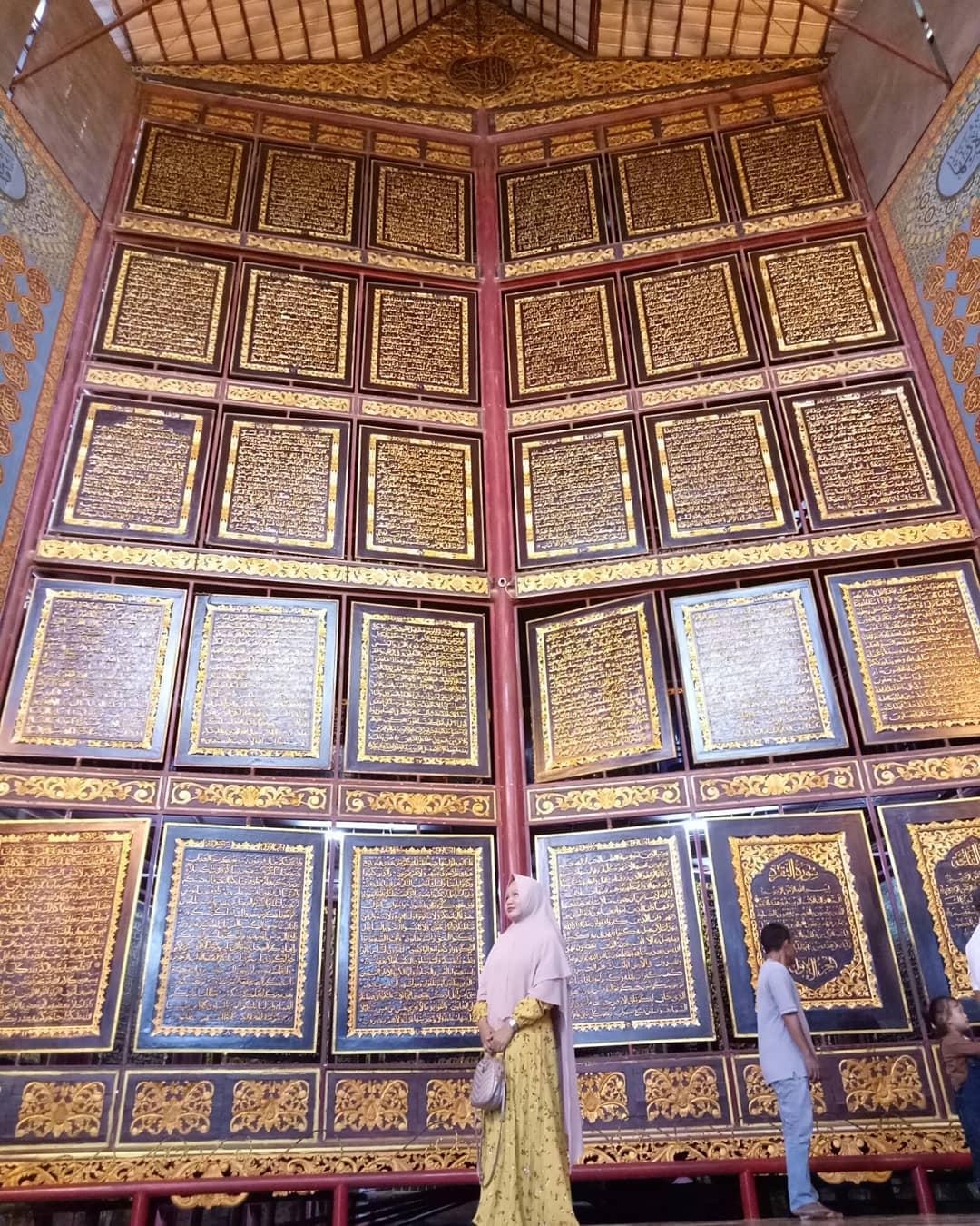 Kitab Museum Al Quran palembang