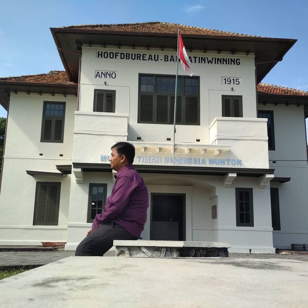 Bangunan Museum Timah Muntok