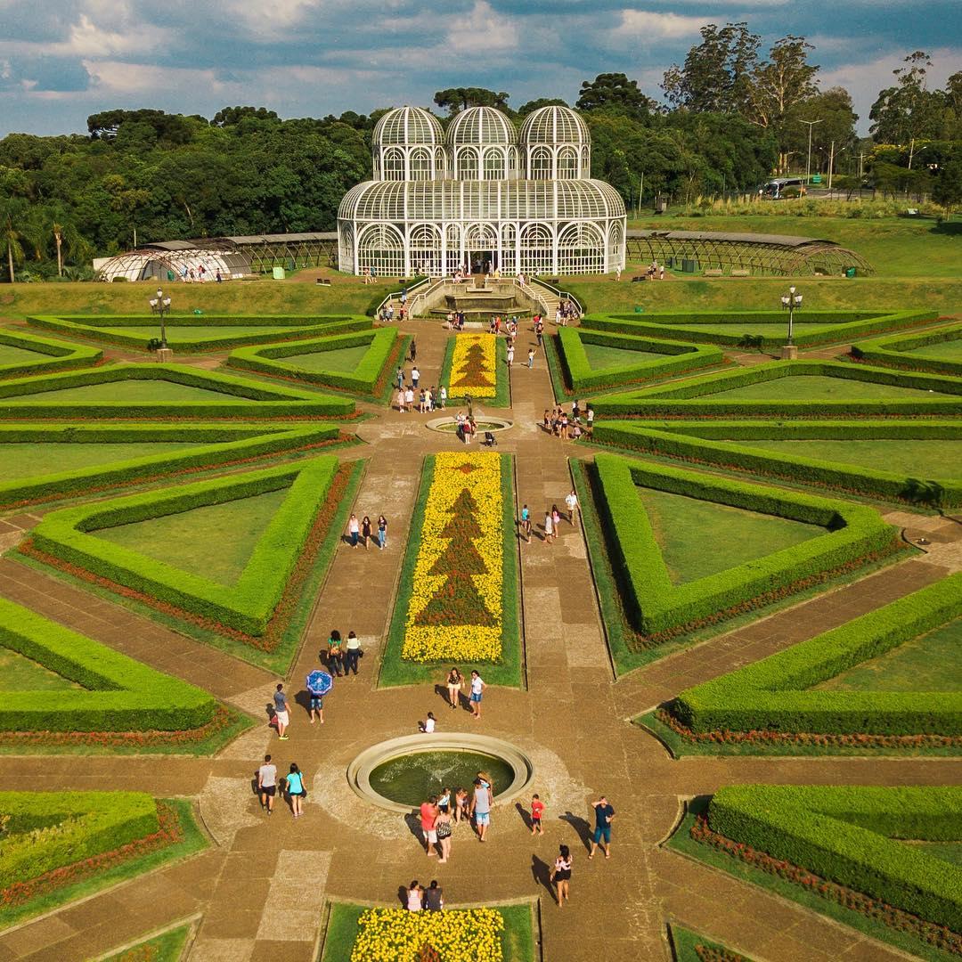 taman botanical garden curitiba