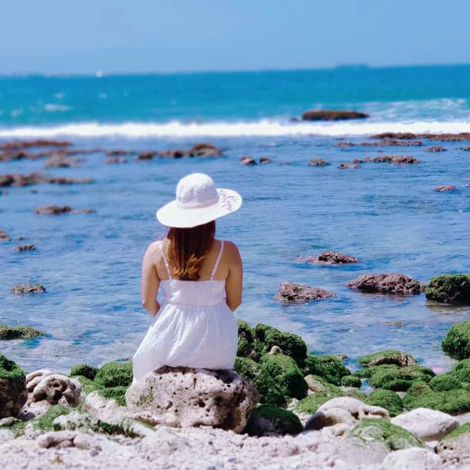 Putih Pantai Karang Pandan