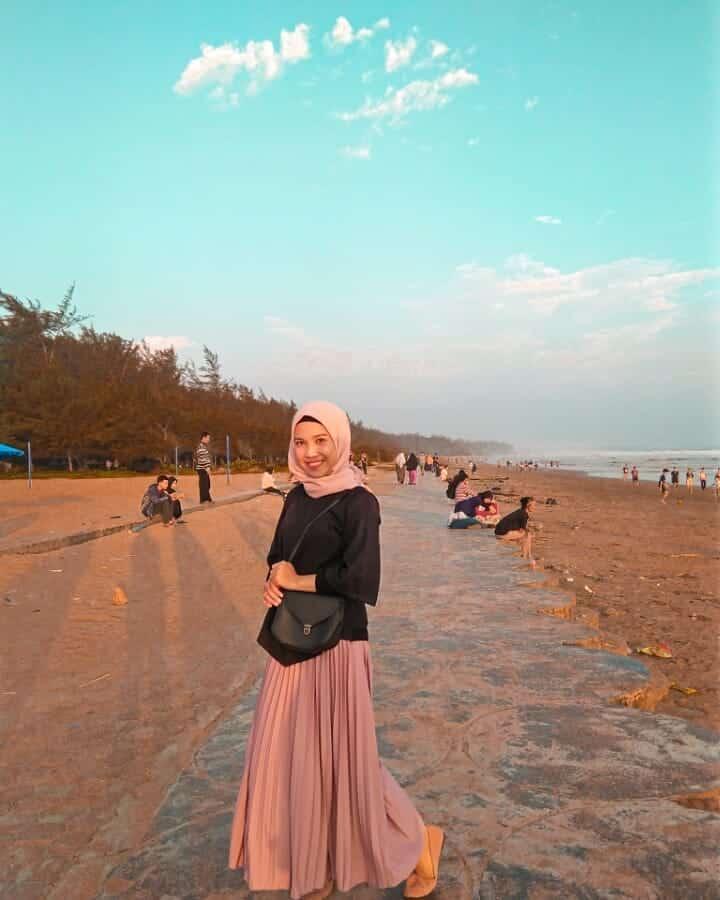 Sunset Pantai Panjang