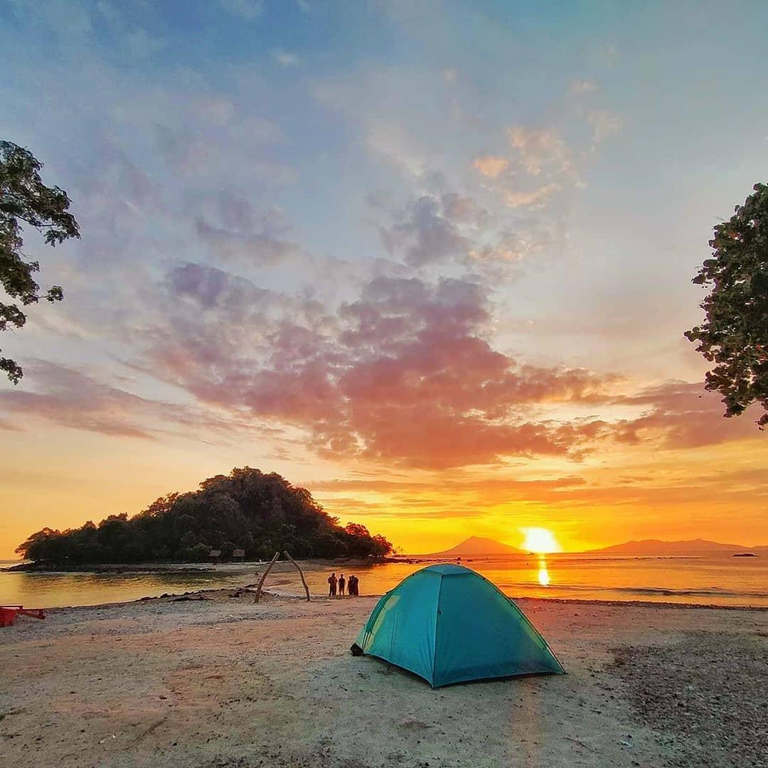 Camping pulau mengkudu