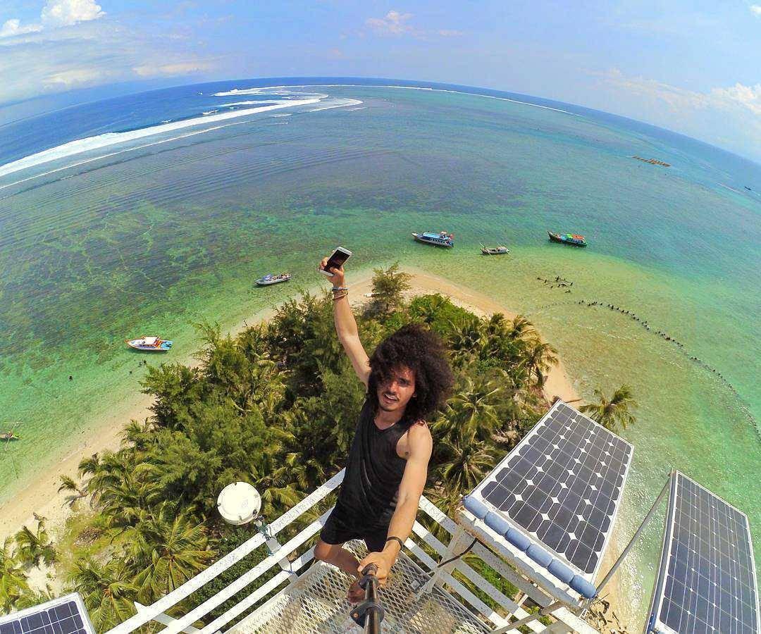 Selfie Pulau Tikus
